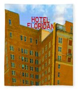 Hotel Floridan Fleece Blanket