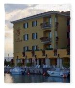 Hotel Sirmione. Lago Di Garda Fleece Blanket