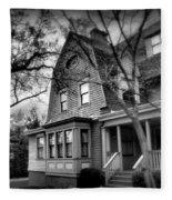 Old House 2  Fleece Blanket