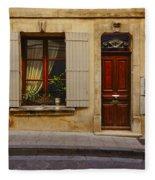 House Arles France Dsc01781  Fleece Blanket