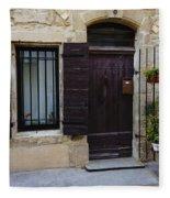 House Arles France Dsc01809  Fleece Blanket