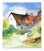 House In Germany Fleece Blanket