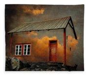 House In The Clouds Fleece Blanket