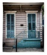 House Of Blue Doors Fleece Blanket