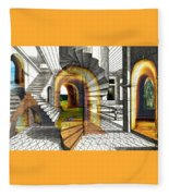 House Of Dreams Fleece Blanket