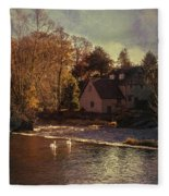 House On The River Fleece Blanket