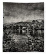House On The River Fleece Blanket