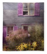 House - Victorian - A House To Call My Own  Fleece Blanket