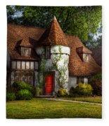 House - Westfield Nj - Fit For A King Fleece Blanket
