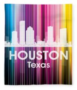 Houston Tx 2 Fleece Blanket