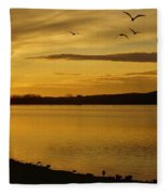How Many Birds Can You Count? Fleece Blanket