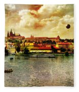 Hradczany - Prague Fleece Blanket