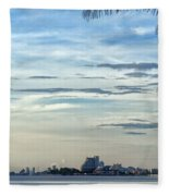 Hua Hin Coastline 02 Fleece Blanket
