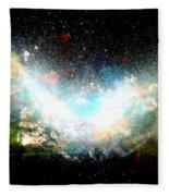 Hubble Birth Of A Galaxy Fleece Blanket