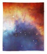 Hubble - Helix Nebula Comet - Like Filaments Fleece Blanket