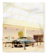 Hudson Car Under Skylight Fleece Blanket