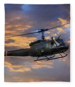 Huey - Vietnam Workhorse Fleece Blanket
