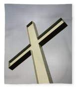 Huge Cross  Fleece Blanket