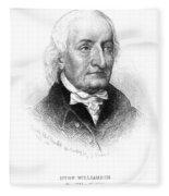 Hugh Williamson (1735-1819) Fleece Blanket