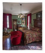 Huguette Clark's Bedroom -- Butte Montana Fleece Blanket