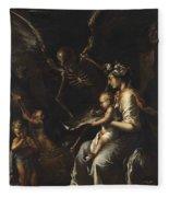 Human Frailty, C.1656 Fleece Blanket