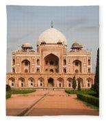 Humayuns Tomb Fleece Blanket