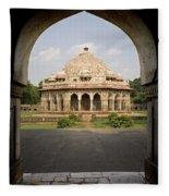 Humayuns Tomb, India Fleece Blanket