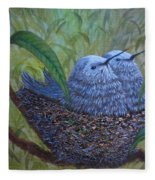 Hummingbird Babies Fleece Blanket