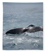 Humpback Whale Tail Fleece Blanket