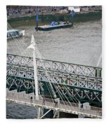 Hungerford Bridge Fleece Blanket