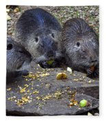 Hungry Critters Fleece Blanket