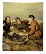 Hunters, 1816 Fleece Blanket