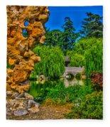 Huntington Gardens Ca Fleece Blanket