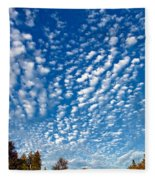 Huron Sky 4 Fleece Blanket