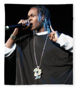 Hurricane Chris Fleece Blanket