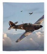 Hurricane - Fighter Sweep Fleece Blanket