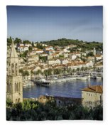 Hvar Overlook Fleece Blanket