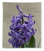 Hyacinth Purple Fleece Blanket