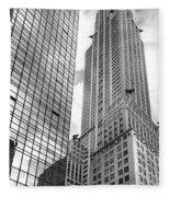 Hyatt And Chrysler Fleece Blanket