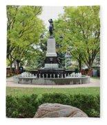 Hyde Park Cincinnati 0056 Fleece Blanket