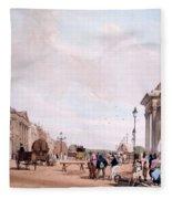 Hyde Park Corner, Looking Fleece Blanket