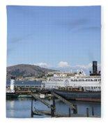 Hyde Street Pier - San Francisco Fleece Blanket