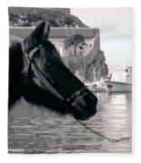 Hydra Horse Fleece Blanket