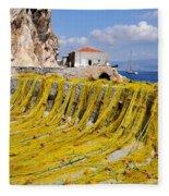 Hydra Island Fleece Blanket