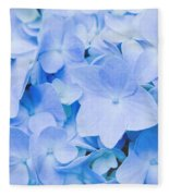Hydrangea Macrophylla  Fleece Blanket