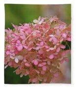 Hydrangea Valentine Fleece Blanket