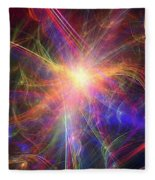 Hypervelocity Star Fleece Blanket