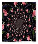 Hypnotic Hearts Fleece Blanket
