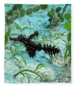 I Am A Hairy Ghost Pipe Fish Fleece Blanket