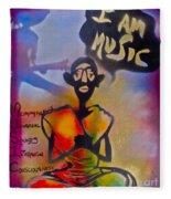 I Am Music #1 Fleece Blanket
